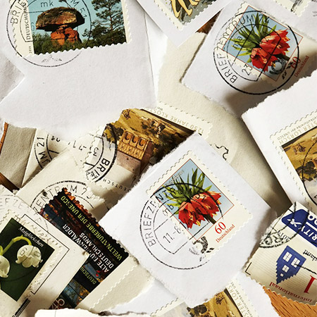 Timbres, collection de timbres